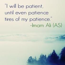 Ali-on-Patience