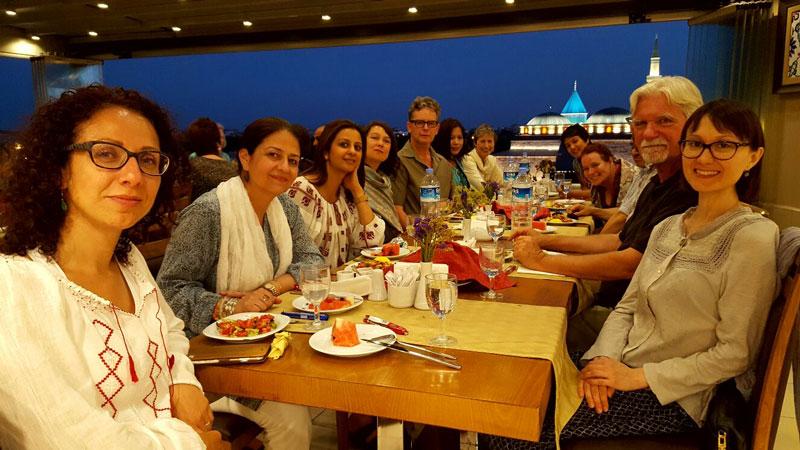 Dinner in Konya
