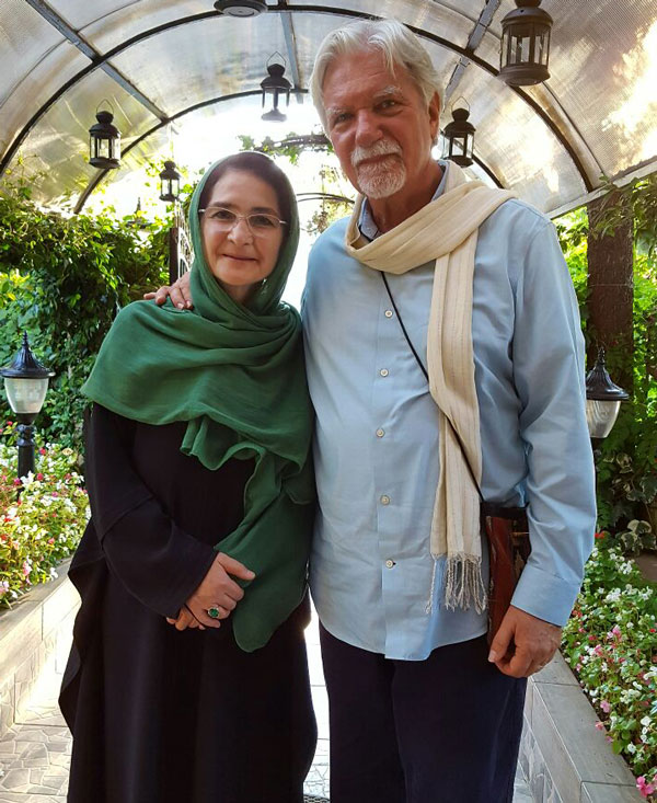 with Shaikha Nur Artiran at the Sefik Can Foundation, Istanbul